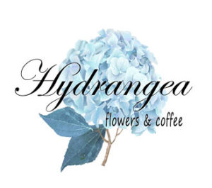 Hydrangea Flowers & Coffee Cafe