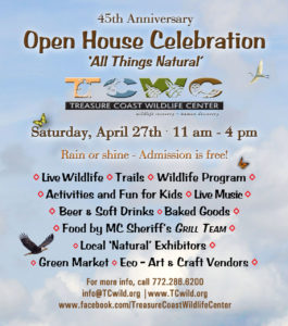 Treasure Coast Wildlife Center Open House & Green Market