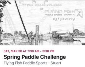 Flying Fish Spring Paddle Challenge