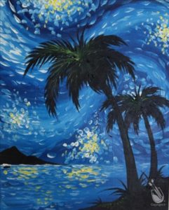 Starry Night Over Pure Shores
