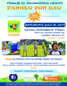Parks and Recreation Month Family Fun Day