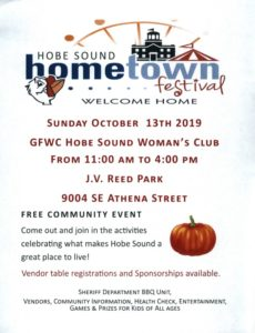 Hobe Sound Hometown Festival - GFWC Hobe Sound Woman's Club