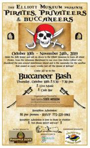 Elliott Museum Presents Pirates. Privateers, and Buccaneers Buccaneer Bash
