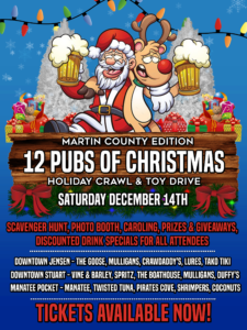 12 Pubs of Christmas Holiday Crawl & Toy Drive