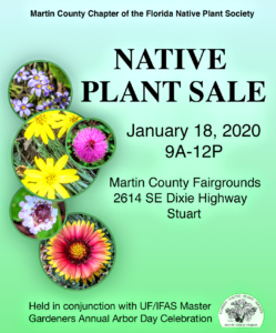Native Plant Sale Hosted by the Martin County Native Plant Society